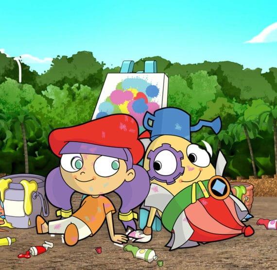 Mati, Dada és a művészet - Da Vinci Kids